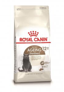 Croquettes pour chat stérilisé - Royal Canin - Stérilisé 12 ans et plus - 4 kg