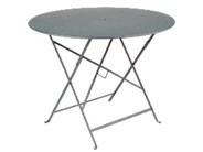 Table pliante Bistro - Fermob -  96 cm - Gris orage