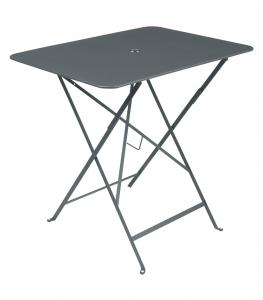 Table pliante Bistro - Fermob - 77 x 57 cm - Gris Orage