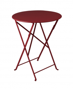 Table pliante Bistro - Fermob - Ø 60 cm - Piment