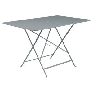 Table pliante Bistro - Fermob - 117 x 77 cm - Gris Orage