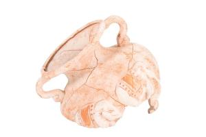 Décor col amphore sablée éléphant 13 cm - Zolux