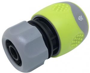 Raccord rapide Bi-matière - Magasin vert - D. 15 mm