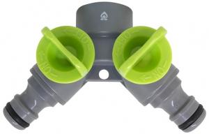 Nez de robinet avec sélecteur 2 circuits - Magasin vert