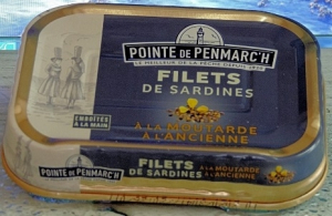 Filets de sardines à la moutarde à l'ancienne - La Pointe de Penmarc'h - 100 gr