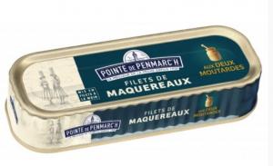 Filets de maquereaux aux 2 moutardes - La Pointe de Penmarc'h - 169 gr