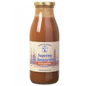 Suprême de langoustines recette bretonne - La Pointe de Penmarc'h - 1 L