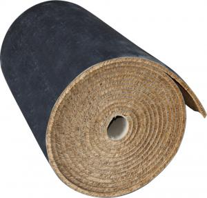 Rouleau coco nature/PVC - 1 x 6 m - Ep 17 mm