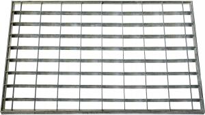 Tapis grille métal - 40 x 60 cm