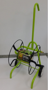 Dévidoir sur roues métal vert JARDINOR - 7 kg