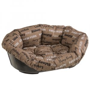 Panier avec coussin Sofa'6 - Ferplast - 73 x 55 x h 27 cm - Beige