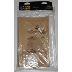 Lot de 5 sacs à poussière - Fartools - Aspirateur Net Up 20 IB