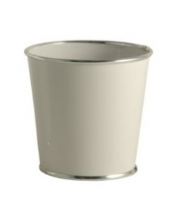 Cache-Pot Chic Choc - GLOBE SARL - Ø 11 - Blanc