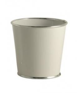Cache-Pot Chic Choc - GLOBE SARL - Ø 18 - Blanc