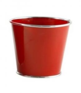 Cache-Pot Chic Choc - GLOBE SARL - Ø 16 - Rouge