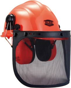 Casque forestier complet - Solidur