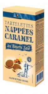 Tartelettes chocolat au lait et caramel au beurre salé - Société DV France - 125 g