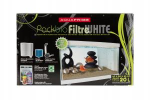 Pack Bio Filtre White - Tyrol - 40 x 20 x 25 cm