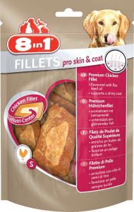 8 In 1 Fillets Pro Skin & Coat 80 g - Filets de poulet 8 In 1
