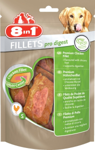 8 In 1 Fillets pro Digest S pour chien - Friandise au poulet pour chien