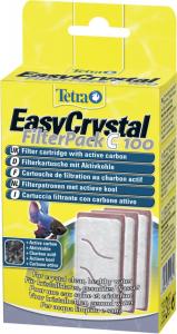 Tetra EasyCrsytal FilterPack C100 - Cartouche de filtration au charbon actif