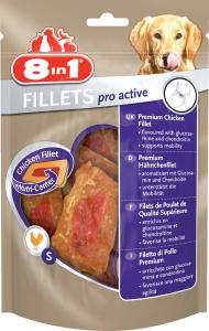 8 In 1 Fillets Pro Active S - Friandise au poulet pour chien