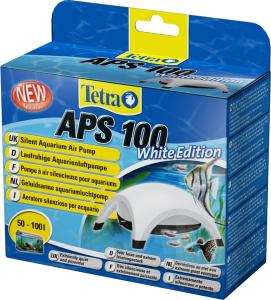 Tetra Pompe à air APS 100 White Edition - Pompe à air silencieuse pour aquarium