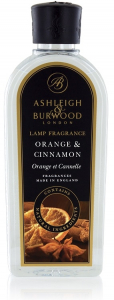 Recharge parfum de lampe - Ashleigh & Burwood - orange et cannelle - 250 ml