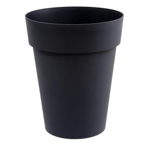 Pot - Toscane - Rond - 50 L - Gris anthracite