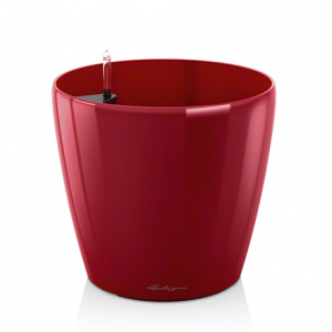Pot Classico LS 28 - All in One Set - Le chuza - Ø 28.5 x h 26 cm - Rouge scarlet brillant