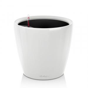 Pot Classico LS 35 - All in One Set - Lechuza - Ø 35 x h 33 cm - Blanc brillant