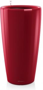 Pot Rondo Premium D 32 kit complet - Lechuza - Rouge scarlet brillant