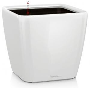 Pot Quadro LS 28 - Lechuza - Blanc brillant