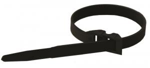Colliers de serrage intérieur/extérieur - Le Grand - 9 x 260 mm - Noir - x 100
