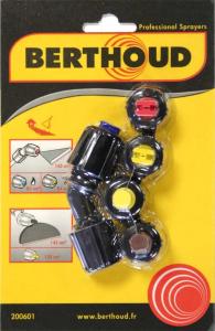 Kit buses de désherbage pulvérisateur - Berthoud - Lot de 5