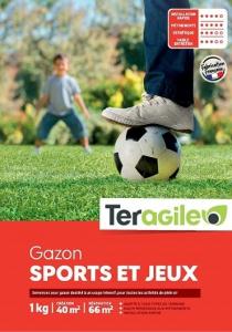 Gazon sport et jeux 1kg - Teragile