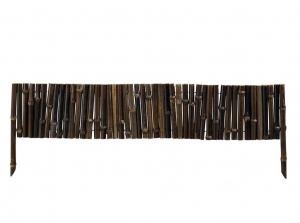 Bordure Bamboo noir - H 35 x 100 cm