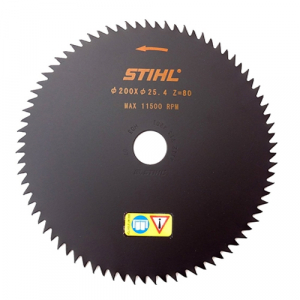 Scie circulaire 80 dents pointues - STIHL - Ø 200 x 25,4