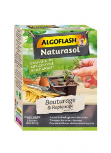 Hormone de bouturage et repiquage - Algoflash - 5 sachets de 5 g