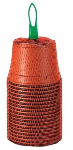 Pots ronds plastiques - Romberg & co - Ø9 - Lot de 18