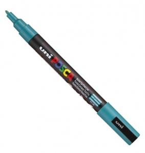 Marqueur Posca à pointe conique fine - Uni - PC3M - Vert Émeraude - 1,3 mm