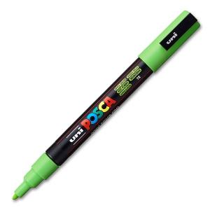 Marqueur Posca à pointe conique fine - Uni - PC3M - Vert Pomme - 1,3 mm