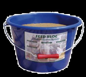 Aliment complément cheval Equifeed Feed Bloc - Seau à lécher de 20 kg