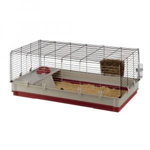 Cage Krolik Extra Large Rouge - Ferplast - 120 x 60 x h 50 cm