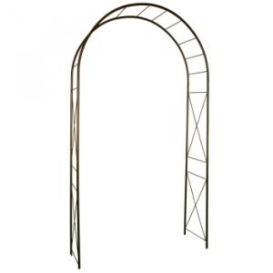 Arche métallique Losange - 130 x 250 cm- Vert