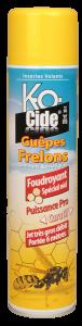 Anti-guêpes et frelons - K-Ocide - Spécial nids - Aérosol foudroyant de 600 ml