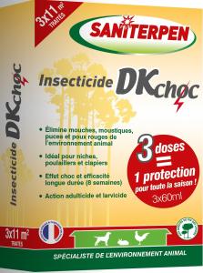 Insecticide DK Choc 3 x 60 ml - Saniterpen