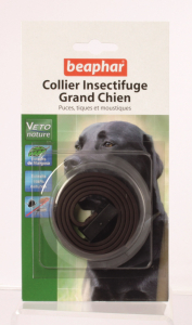 Collier insectifuge marron pour grand chien - Beaphar