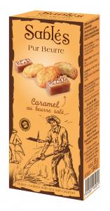 Sablés Pur Beurre Caramel au beurre salé - DV France - 55 g
