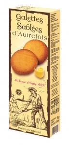 Galettes Sablées d'Autrefois au beurre d'Isigny - DV France - 175 g